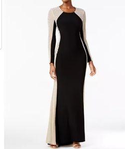 Xscape Embellished Column Evening Dress